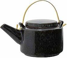 Bloomingville Noir Teekanne schwarz/grau