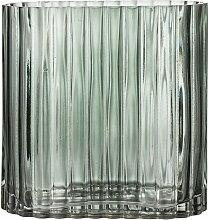 Bloomingville - Riffle Glas-Vase L 18 x H 18 x T 9