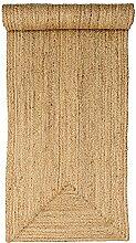 Bloomingville Seegras Natur Teppich Läufer