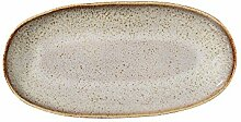 Bloomingville Servierplatte Sandrine, hellgrau