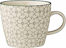 Bloomingville Tasse mit Henkel Karine Kaffeetasse