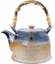 Bloomingville Teekanne aus Steingut, reaktive