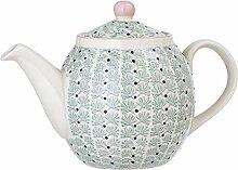 Bloomingville Teekanne Maya, grün, Keramik
