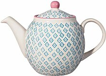 Bloomingville Teekanne Patrizia, hellblau, Keramik