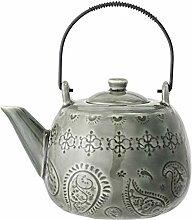 Bloomingville Teekanne Rani, grün, Keramik