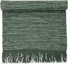 Bloomingville - Teppich, 120 x 60 cm, grün