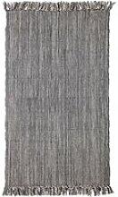 Bloomingville - Teppich mit Fransen, 150 x 90 cm,