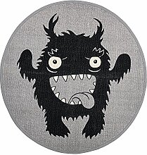 Bloomingville Teppich Monster, grau