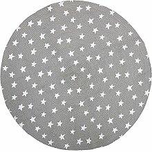 Bloomingville Teppich Sterne, grau