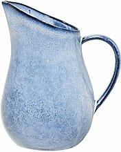 Bloomingville Wasserkrug Sandrine, blau