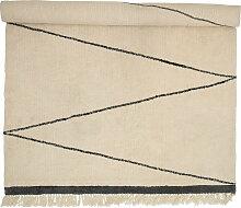 Bloomingville - Wollteppich 300 x 200 cm,