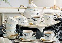 Bloomingvilletassen Kaffeetasse Entworfen 6 Tassen