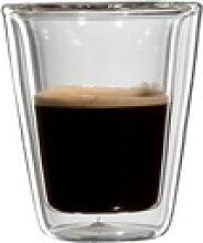 Bloomix Espressoglas Milano (4-tlg), Doppelwandig