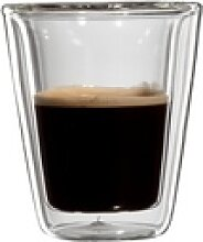Bloomix Espressoglas Milano, Glas, Doppelwandig,
