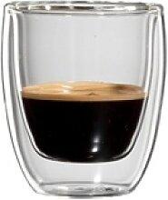 Bloomix Espressoglas Roma (4-tlg), Doppelwandig