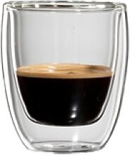 Bloomix Espressoglas Roma, Glas, Doppelwandig,