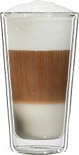 Bloomix Latte-Macchiato-Glas Milano, (Set, 4