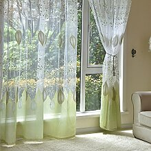 Bloomma Fenster Vorhang Voile Gardinen, 100cm x