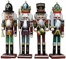 Bloomma Weihnachten Nussknacker Ornamente Set,