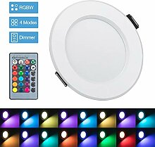 Bloomwin LED-Einbaustrahler, RGB, mehrfarbig,