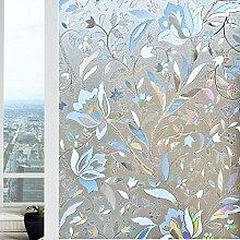 Bloss Fensterfolie mit Tulpenmotiv (60 x 299 cm),