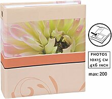 Blossoms Fotoalbum für 200 Fotos in 10x15 cm