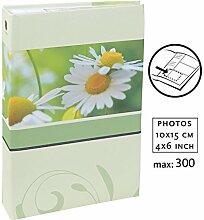 Blossoms Fotoalbum für 300 Fotos in 10x15 cm