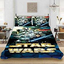 BLSM Bettwäsche Star Wars Bettbezug für Kinder,