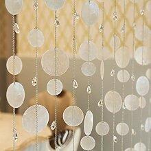 BLSTY Mehrfarbig Perlenvorhang, Dekoration