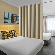 bluCOASTLINE Raumteiler Vorhänge Schlafzimmer