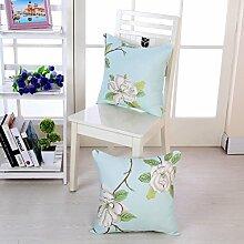 Blue Bird Fresh And Simple Cloth Pillow Sofa Cushion,Pillow Pillow Pillow Pillow Pillow-B 45x45cm(18x18inch)VersionB