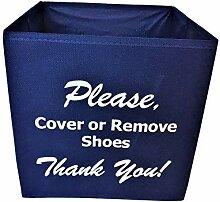Blue Bootie Box Einweg-Schuhüberzug für Makler