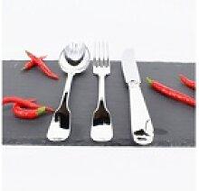 Blue Chilli Design Besteck-Set Stark versilbertes
