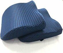 BLUE MOON ergonomisches Rückenkissen Sitzkissen