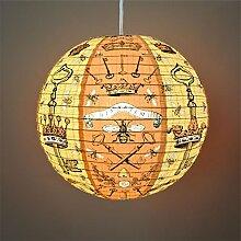 Blue Q - Design Papierlampe Lampenschirm Hängelampe - Bees & Keys