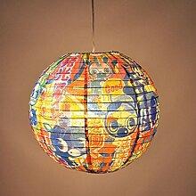 Blue Q - Design Papierlampe Lampenschirm Hängelampe - Good & Plenty