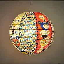 Blue Q - Design Papierlampe Lampenschirm Hängelampe - Heavy Lifting