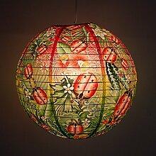 Blue Q - Design Papierlampe Lampenschirm Hängelampe - Ladybug