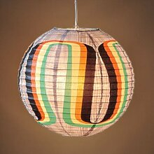 Blue Q Designer Papierlampe - Rainbow