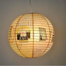 Blue Q Designer Papierlampe - Turn It Up