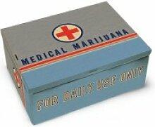 Blue Q Medical Marijuana Cigar Box by Blue Q