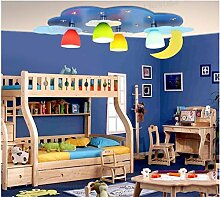 Blue Star Kinderzimmer Deckenleuchte LED-kreative