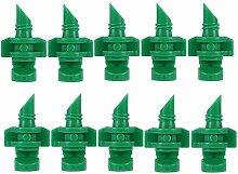 Blue Vessel 10Pcs Micro 180 Grad Garten Rasen Spray Düse Sprinkler Bewässerungssystem