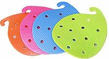 Blue Vessel Obst Gemüse Reinigungsbürsten PVC Durchmesser Werkzeuge Home Küchenaccessoires
