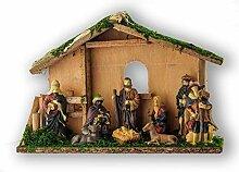 Bluebd Weihnachtskrippe mit 10 Figuren,
