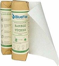 BlueFox Küchenrolle aus 100% Bambus 2er Set,