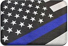 Blueline Flags Willkommensmatte, Teppich für