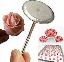 Bluelover 5Pcs Kuchen Dekorieren Nägel Kuchen Blumen Kuchen Icing Creme Werkzeuge