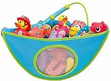 Bluelover Baby Badewanne Spielzeug Lagerung Tasche