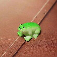 Bluelover Diy-Handwerk Landschaft Minni Frog Topfpflanzen Pflanze Garten-Dekor-Grün